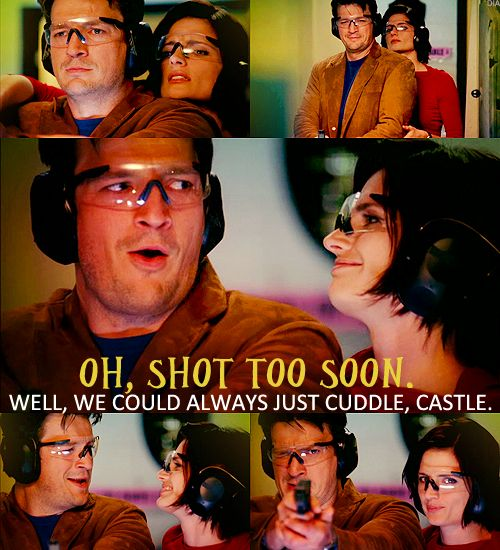 Castle season 1 episode 7, 'Home is where the Heart Stops