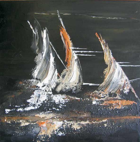 Peintures marines mer plage et voilier pinterest for Peinture interieur bateau