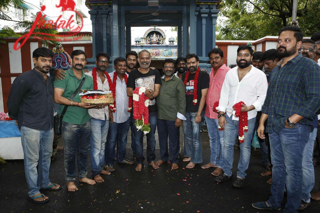 Venkat Prabhu's PARTY begins http