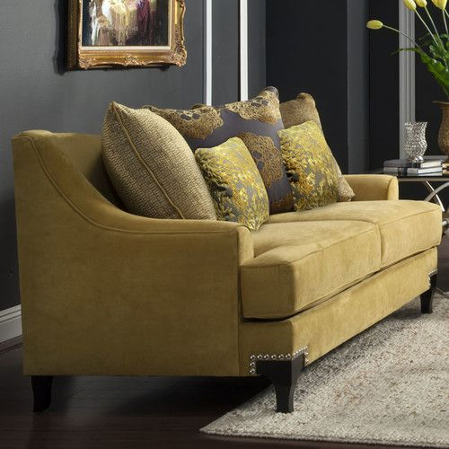 Found It At Wayfair Living Room Collection Gold Sofa Gold Living Room Living Room Collections