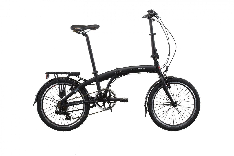 Ortler London folding bike black 2015 folding bicycle