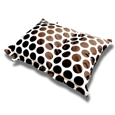 Vandue Corporation Sol Bean Bag Chair Upholstery: Cream/Brown