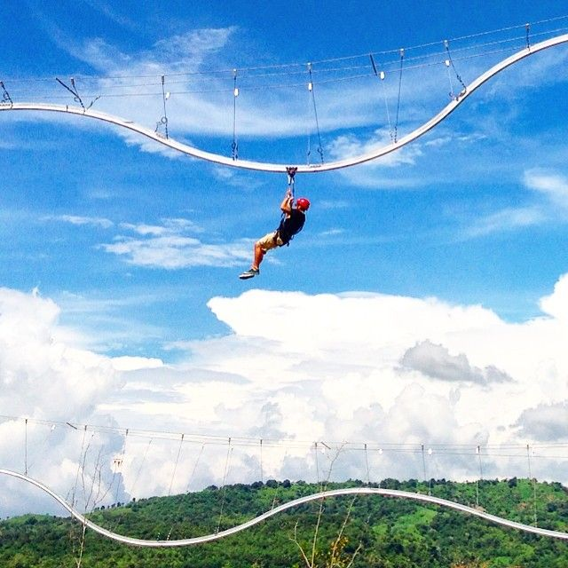 roller coaster zipline at the sandbox emoji porac pampanga