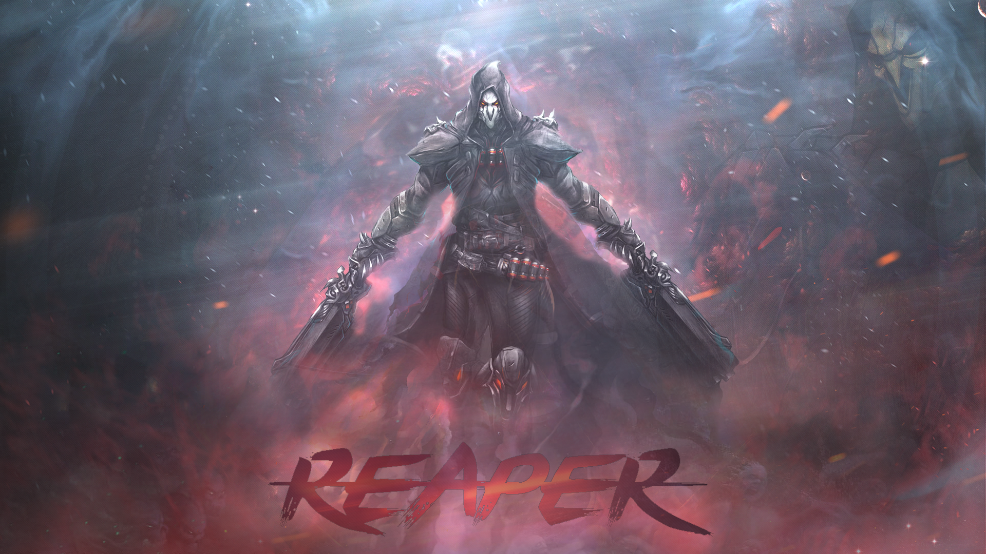 Jeux Video Overwatch Reaper Overwatch Fond D Ecran