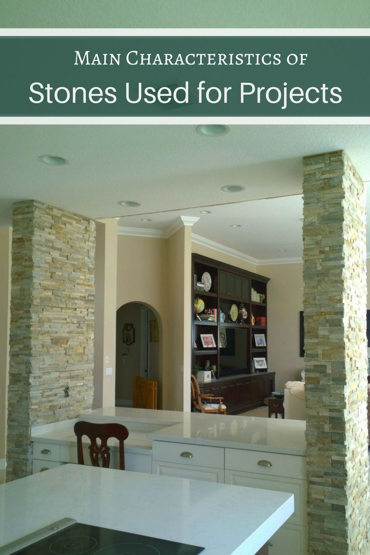 Building Materials Main Characteristics Of Stones Used For Projects House Interior Decor Stone Veneer Decorating Blogs