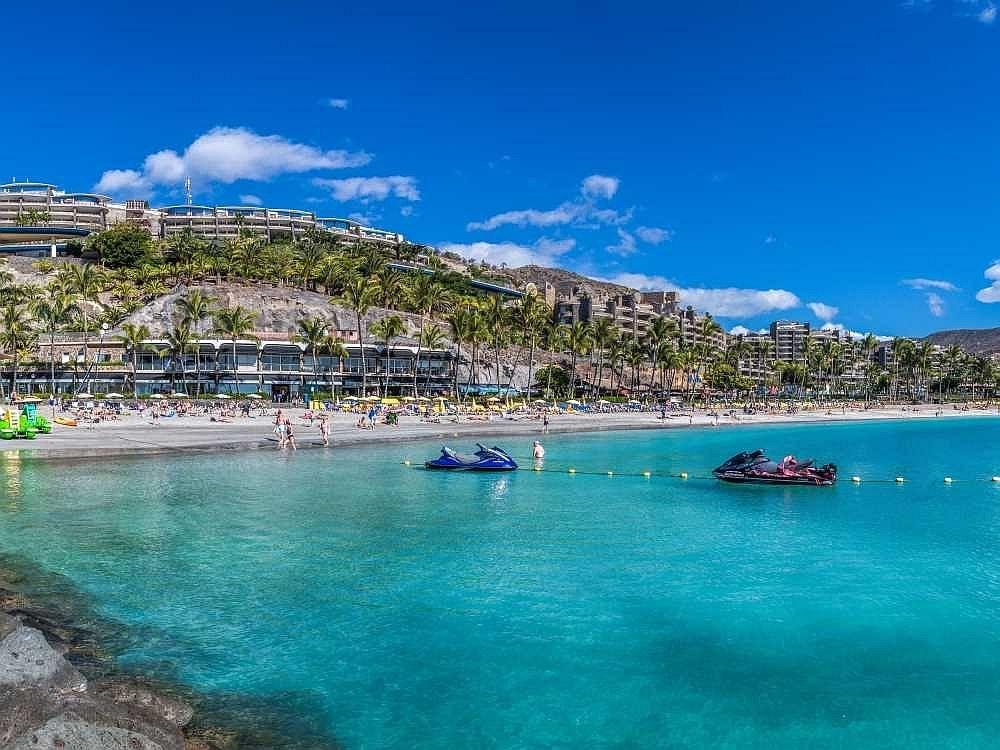Anfi Beach On Gran Canaria Gran Canaria Travel Canary Islands