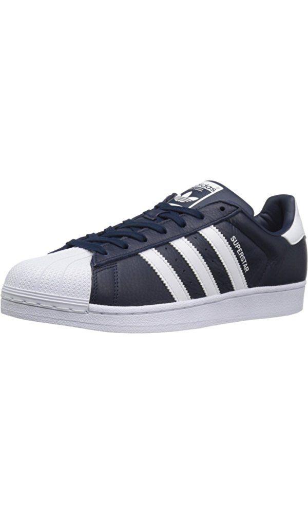 info for a2a58 d9e51 Adidas Originals Men s Superstar Fashion Sneaker, Collegiate Navy White Collegiate  Navy, 8 M US Best Price