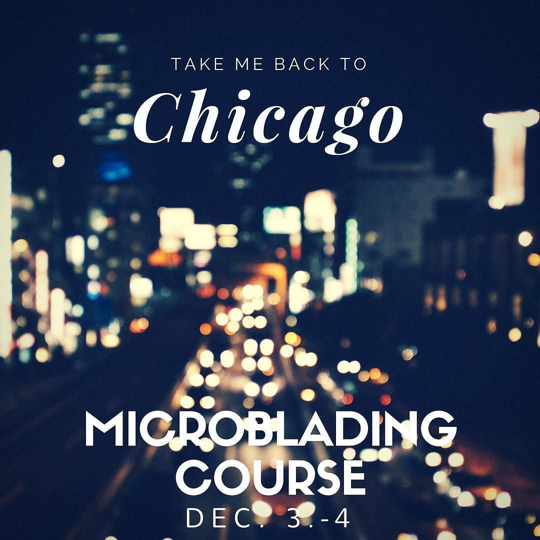 Sign up for our microblading course in Chicago