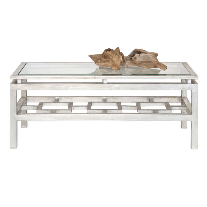 Pierre Silver Leafed Coffee Table From Worlds Away. | Ou0027Grody | Pinterest |  Tables, Silver Coffee Table And Consoles