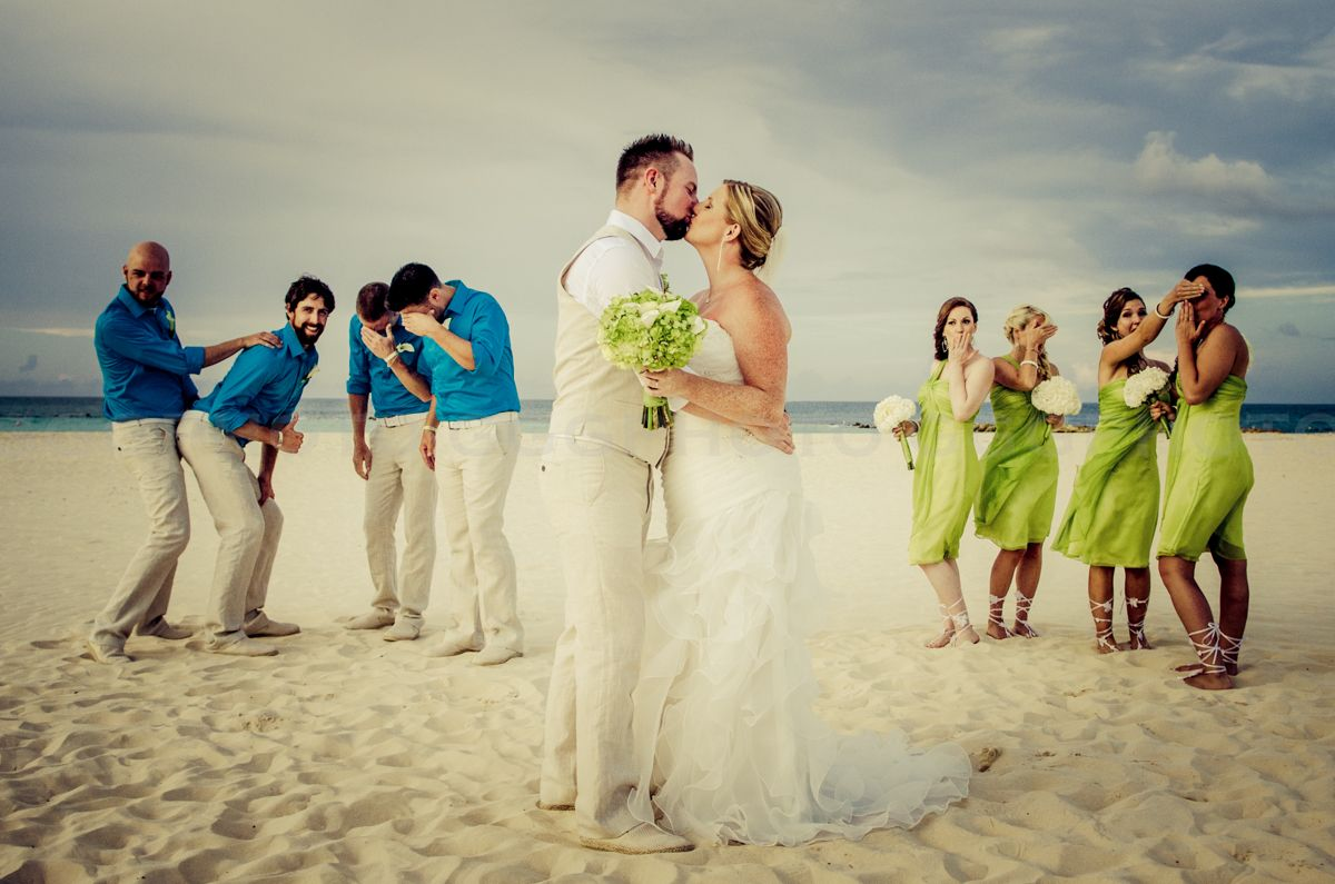 Funny Bridal Party Pic