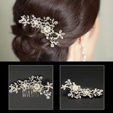 New Bridal Wedding Cryatsl Flower P...