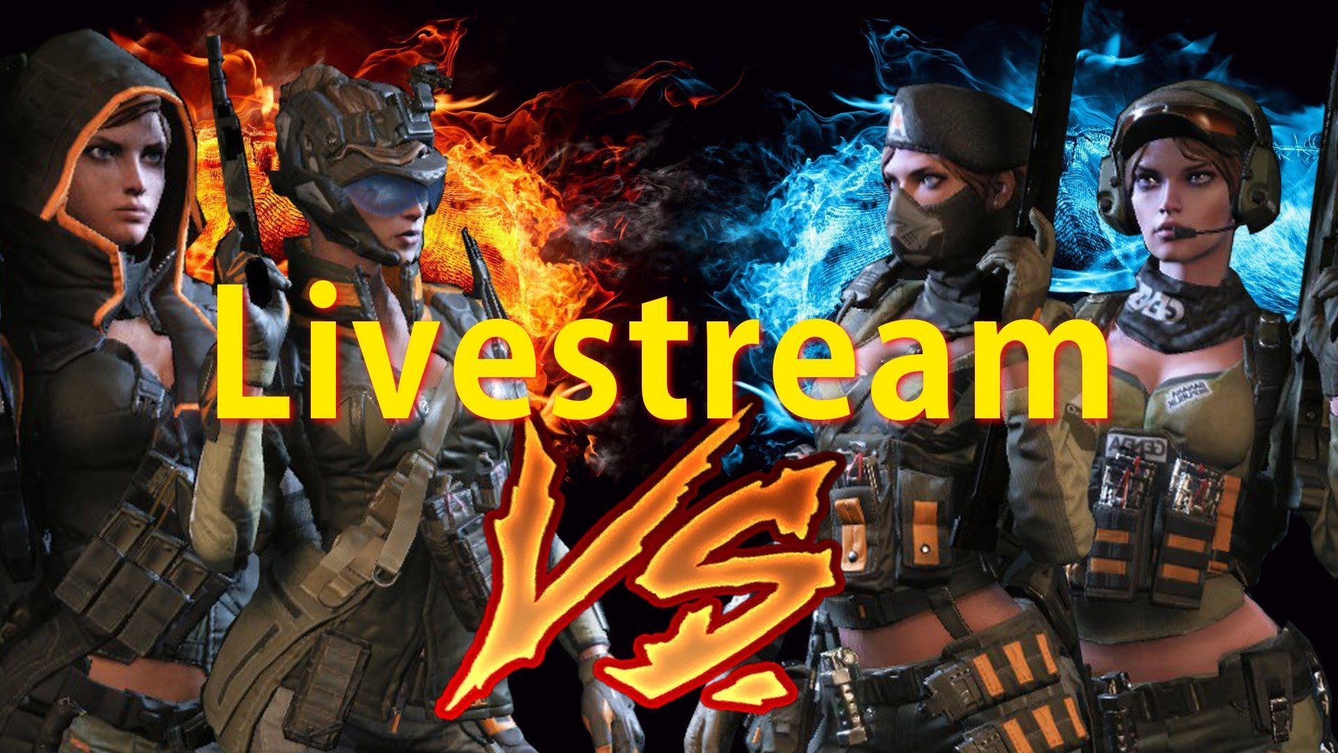 Imperio Azteca Clan Wars Livestream con teamspeak 7 vs 7 | Gaming