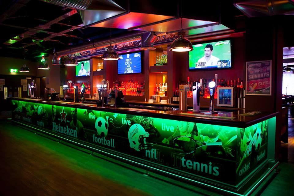 Manchester Bar Sports SportsBar Sports bar decor
