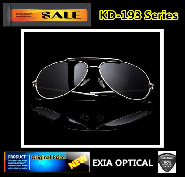 Optical Sunglasses Men Prescription CR-39 AR Coated Polarized Lenses EXIA  OPTICAL KD-193 91963e8bc4