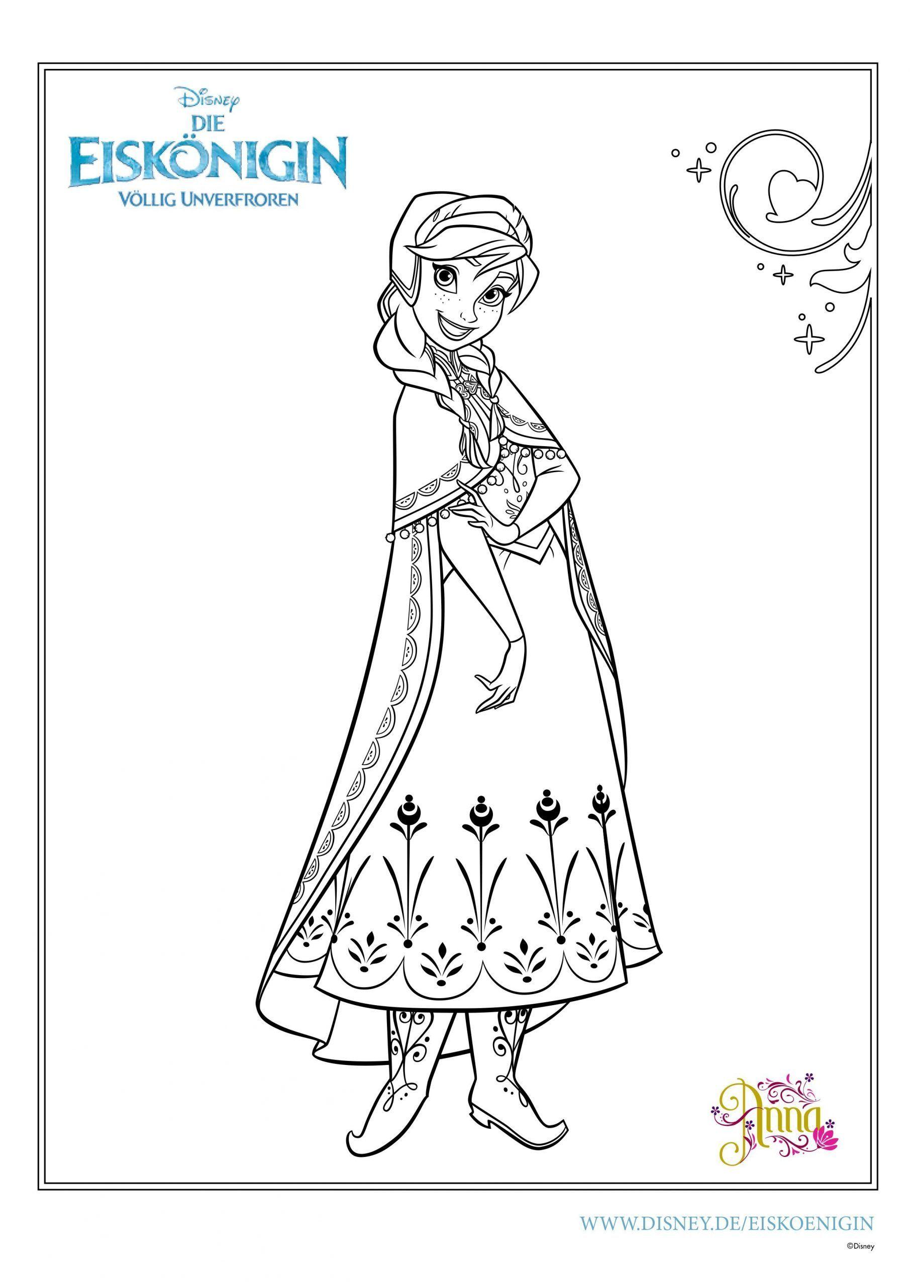 Disney Prinzessinnen Malvorlagen Elsa