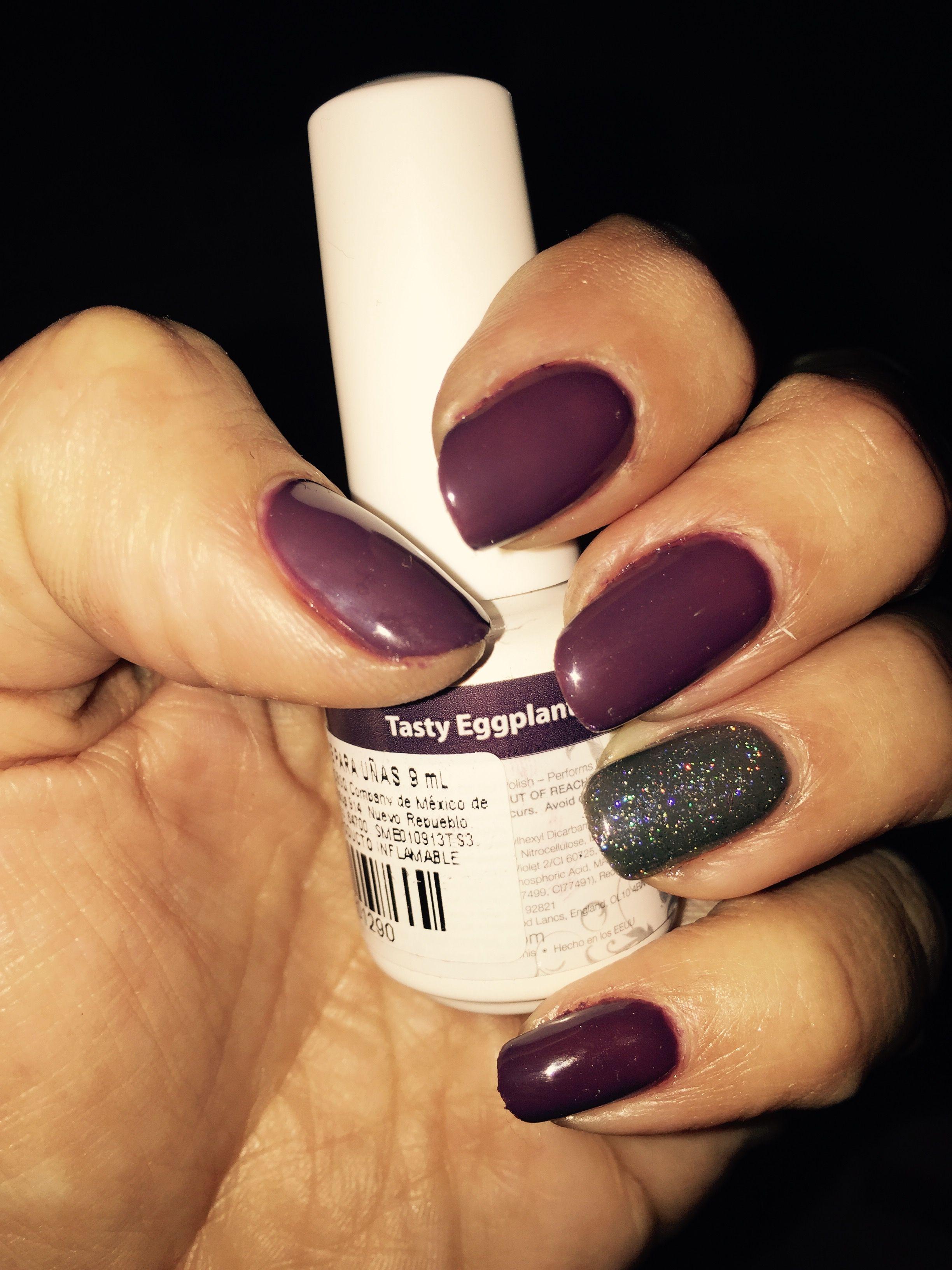 Mi nuevo #Gelish #nails #eggplant | gel polish I have | Pinterest ...