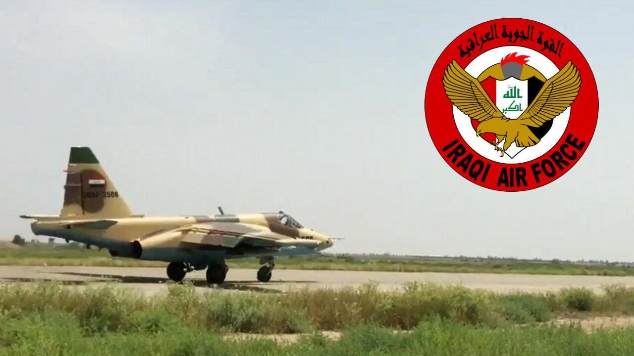 Iraqi Air Force Sukhoi Su-25 take off