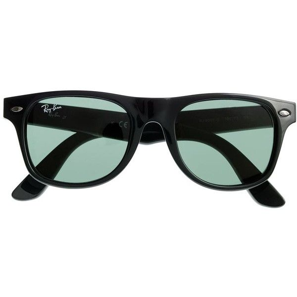d56bf46ba3da5 J.Crew Boys  Ray-Ban® Junior Wayfarer® sunglasses ( 59) ❤ liked on Polyvore