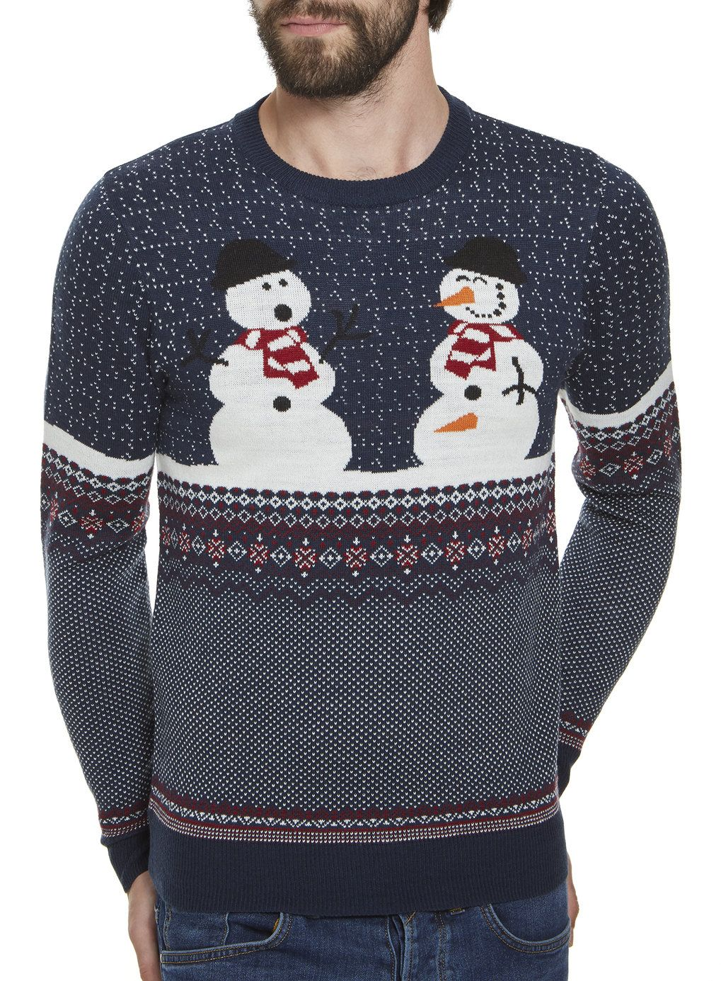 Our Navy Naughty Snowmen Christmas just arrived online