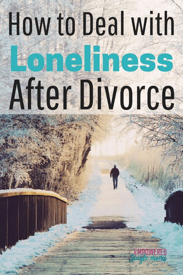 How to handle loneliness after divorce