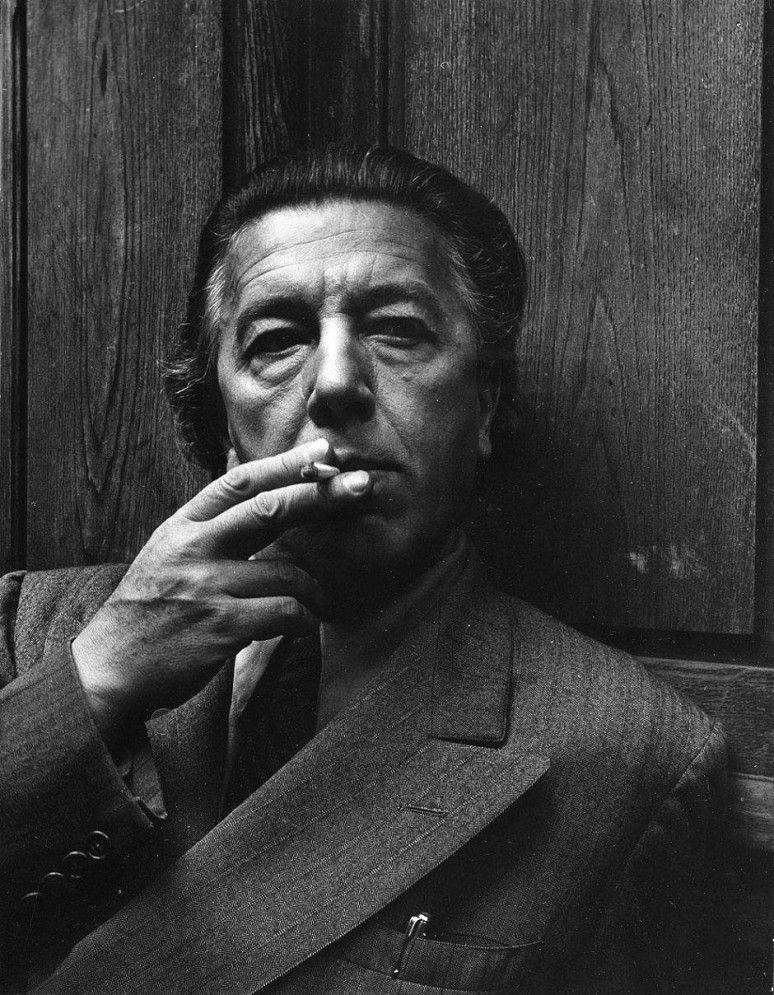 Poet and writer André Breton , 1950  by  Israëlis Bidermanas