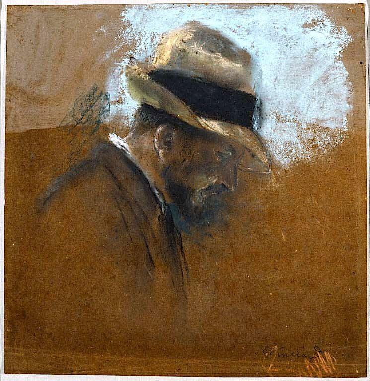 Alexandre Natanson Seen in Profile Edouard Vuillard 1868-1940