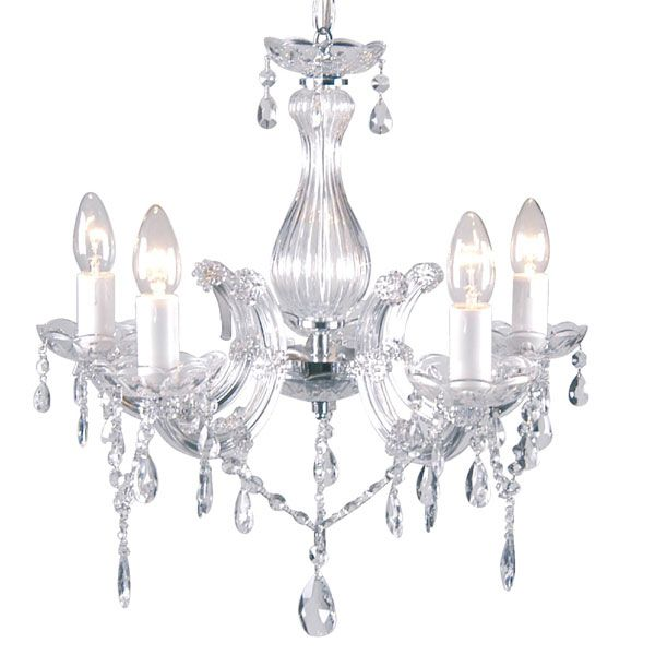Marie Therese Five Light Fitting Dunelm Mill Light