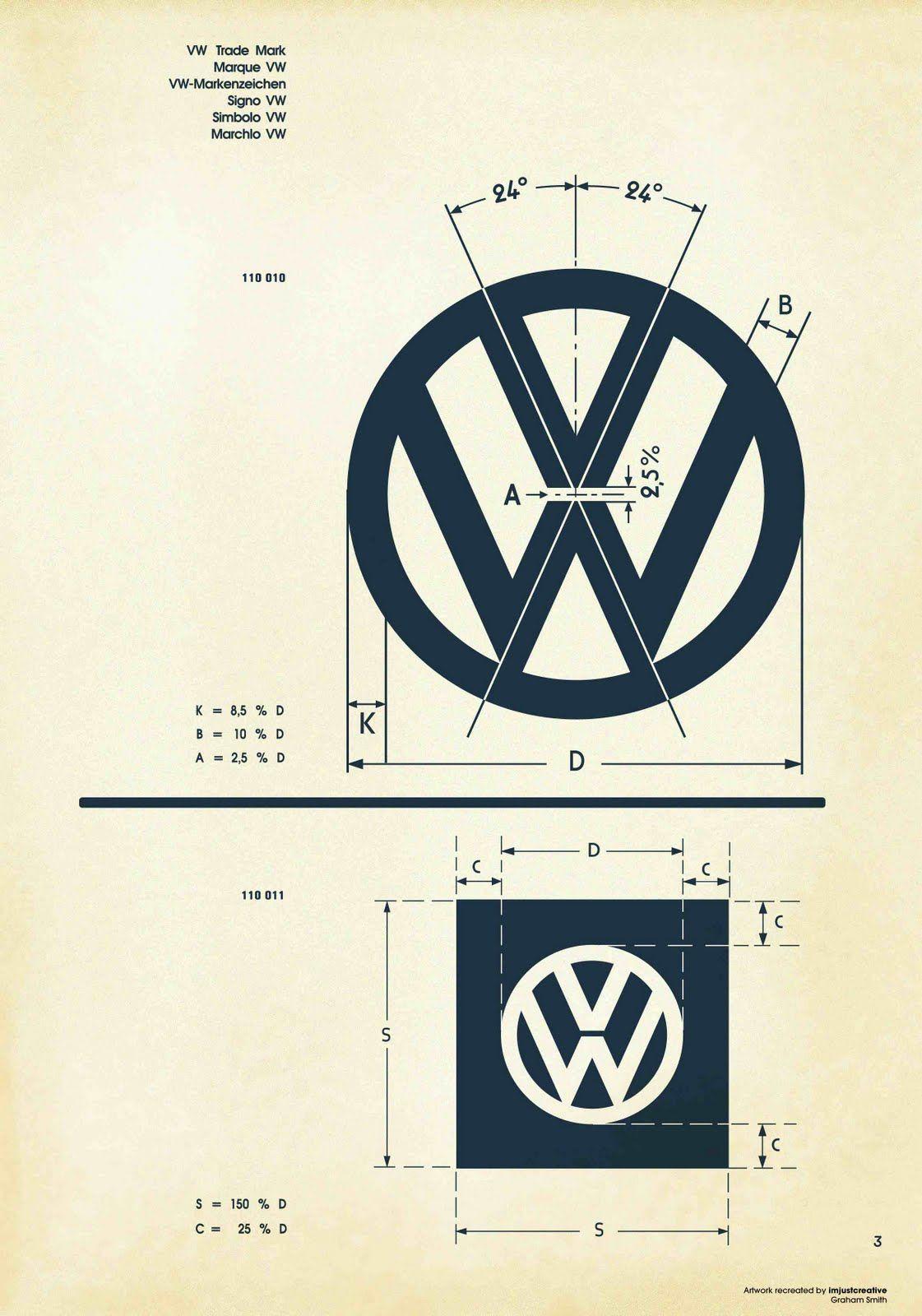 Logo Schematic | Pinterest | Vw, Logos and Logo nding