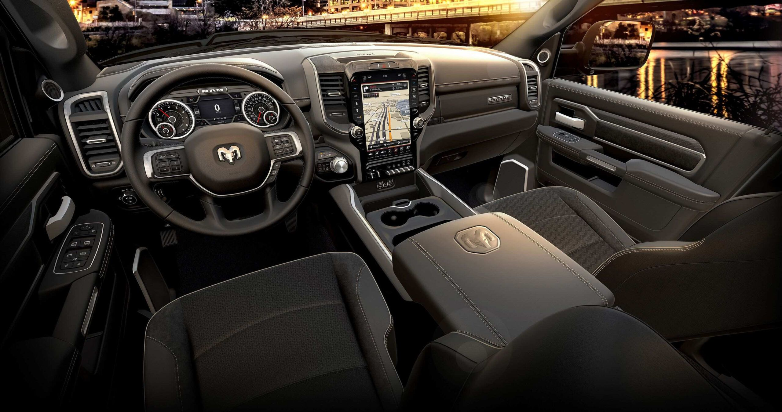 Dodge Ram 2020 Interior Overview Di 2020