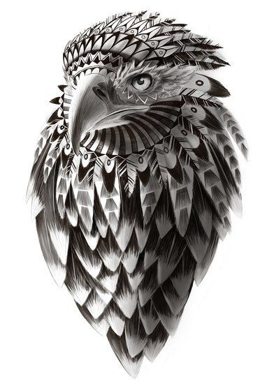 Awesome Hawk Design Something Like This But With An Owl