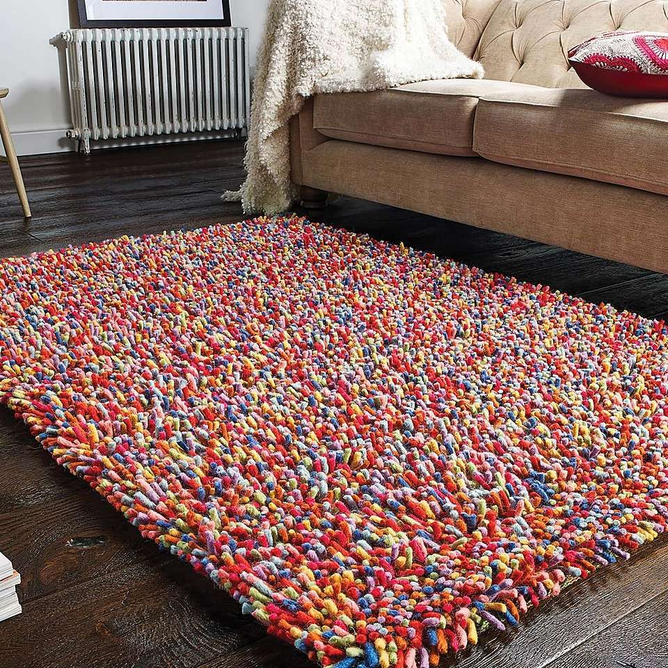 Candy Forest Shaggy Rug Dunelm Rugs