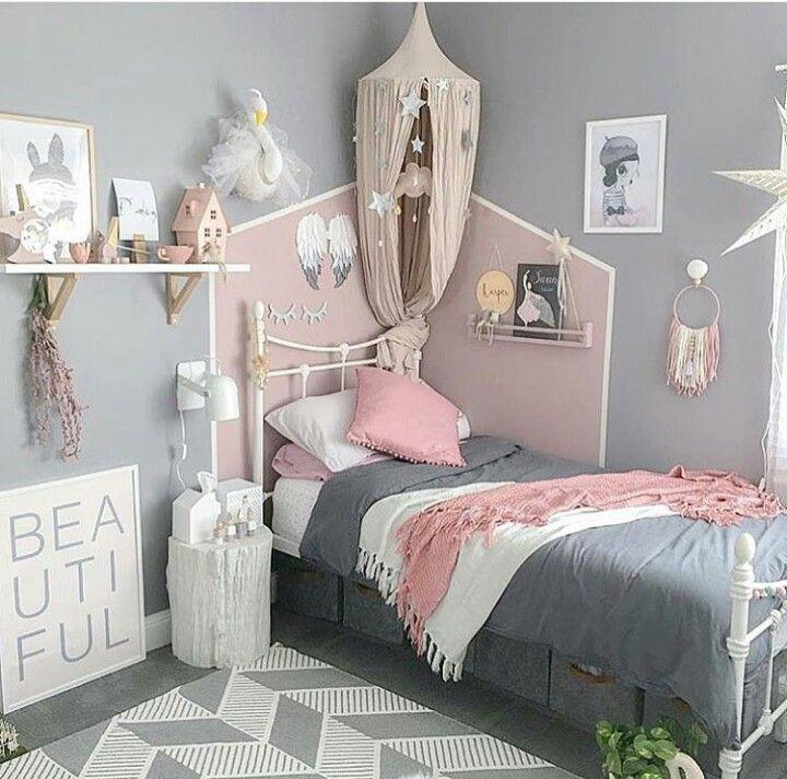 Fantastisch Kinderzimmer Für Mädchen, Schlafzimmer Ideen, Wandgestaltung, Deko Ideen, Teenager  Mädchen ...