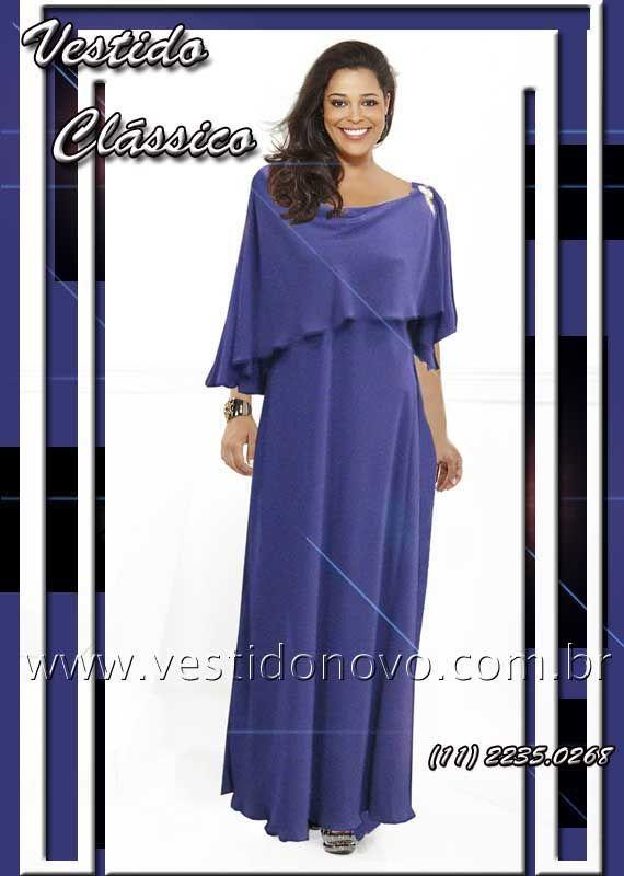 vestido mae do noivo, plus size, tamanho grande azul