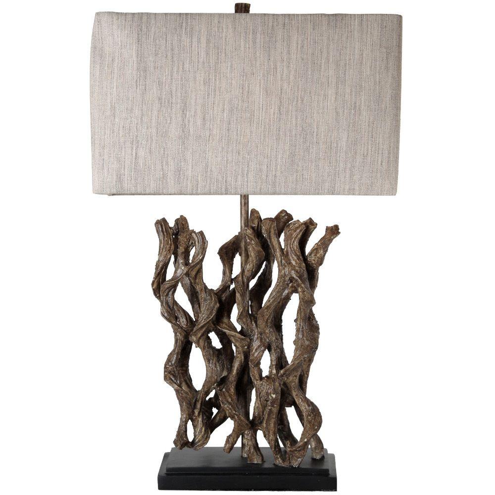 Driftwood Table Lamp Driftwood Table Table Lamp Rustic Lamps