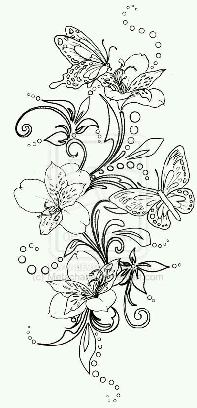 Belleza Swirl Tattoo Coloring Pages Coloring Pictures