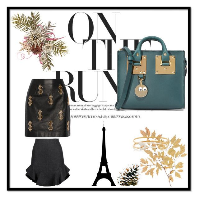 """""""Quick Exchange!"""" by donna-wang1 ❤ liked on Polyvore featuring Moschino, Sophie Hulme, IaM by Ileana Makri and Isabel Marant"""