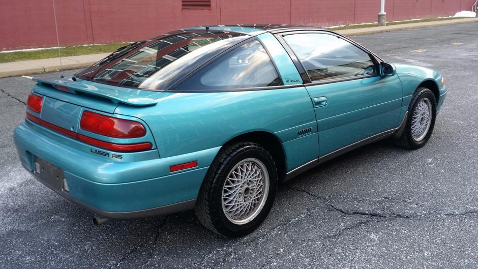 1992 Plymouth Laser Rs Turbo Awd Plymouth Laser Awd Mitsubishi Eclipse