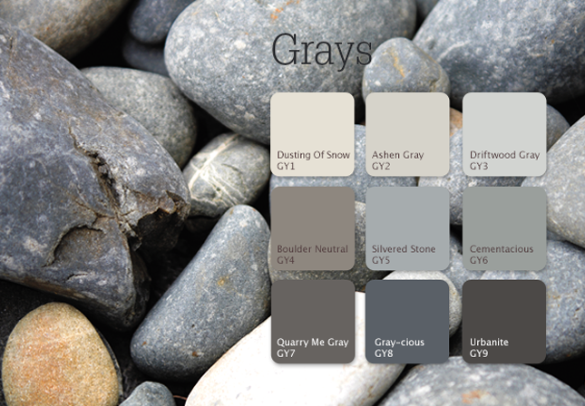 Gray Color Room Scenes Room Paint Bedroom Paint Colors Grey Living Room Colors