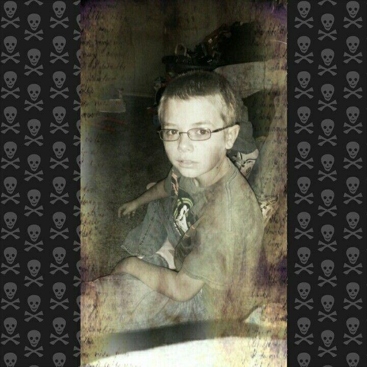 Creepy Photo Letter Dominic