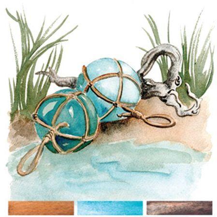 New Low Tide Chart daniel smith extra fine watercolor triad