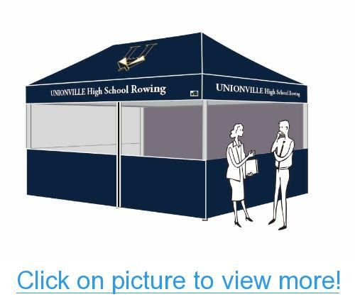 Eurmax 10 x 20 Custom Canopy Professional Commercial Grade Full Aluminum Canopy Frame Custom Tent Printed  sc 1 st  Pinterest & Eurmax 10 x 20 Custom Canopy Professional Commercial Grade Full ...
