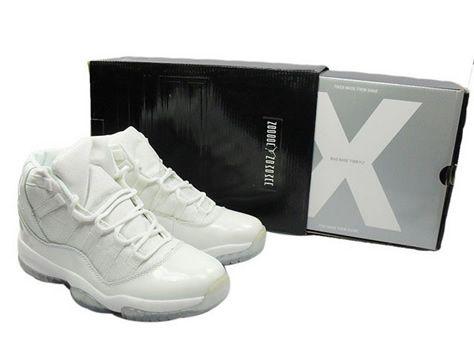 wholesale price Air Jordan 11 (XI) All White, $58.21 usd