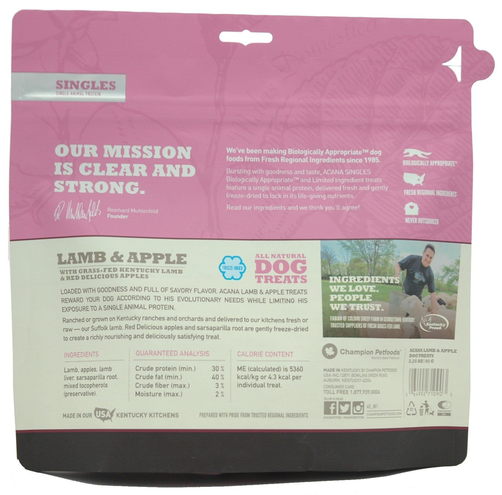 Acana Lamb And Apple Dog Treats 3 25 Oz Read More Reviews Of The