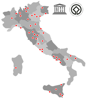 Map of unesco world heritage sites in italy click through to the map of unesco world heritage sites in italy click through to the next pages gumiabroncs Gallery