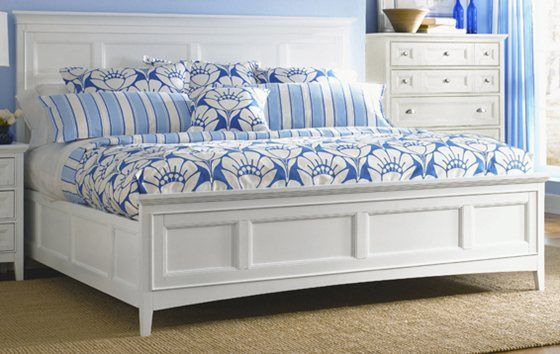 Kane S Furniture Kentwood White King Storage Bed