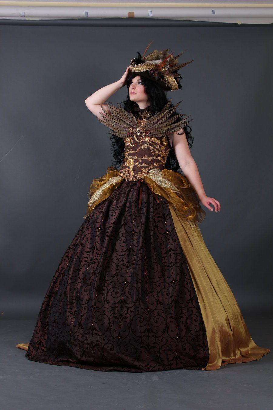 a3e9b10acd4b Magic Steampunk Ballgown 6 by Jumeria-Nox.deviantart.com on @deviantART