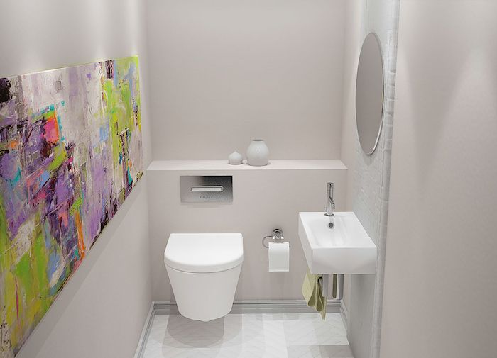 Idee Amenagement Wc Affordable Amenagement Toilette M Avec