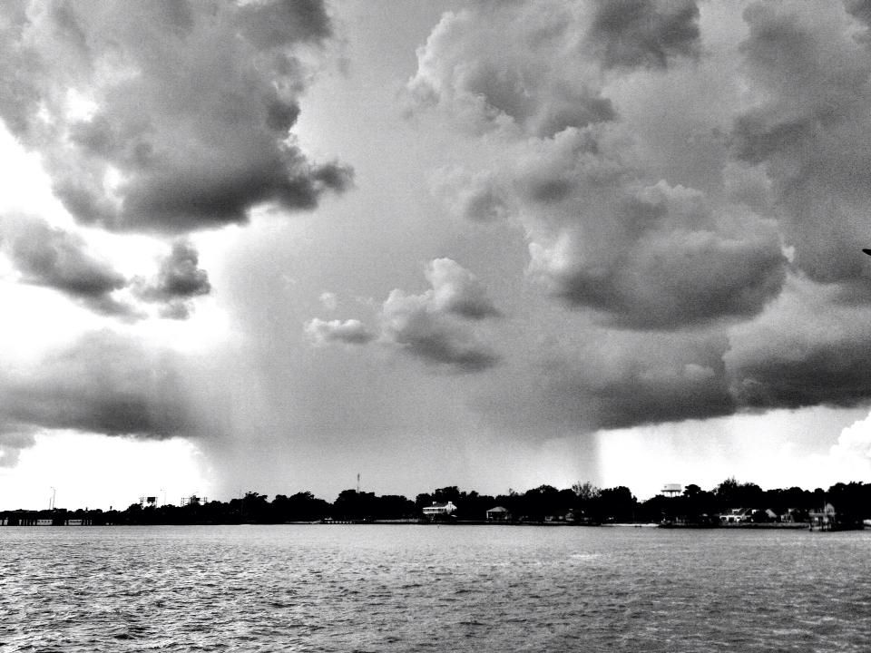 Storm is coming by Cindy Graham of Ft. Monroe.