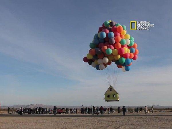recrean casa voladora