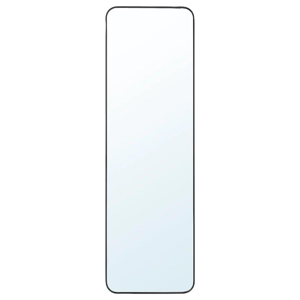 Lindbyn Mirror Black 15 3 4x51 1 8 Ikea In 2020 Wall Mirrors Ikea Long Mirror Ikea Mirror
